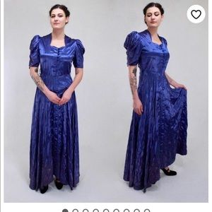Vintage 1940s dressing gown size medium